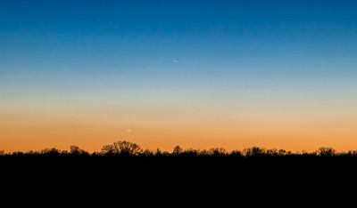 Venus and Mercury (2018-03-17)
