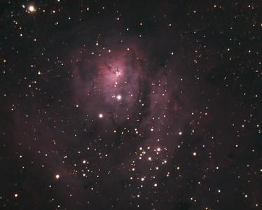 Messier 8, the lagoon Nebula