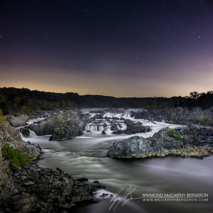 Great Falls Park || Great Falls, Maryland, USA  Canon EOS 6D w/ EF24-70mm f/2.8L USM: 48mm @ 499.0 sec, f/6.3, ISO 400