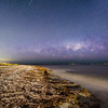Milky Way setting over Rockingham Foreshore - Western Australia