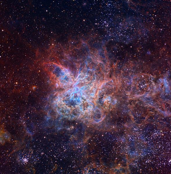 Trantula Nebula by Ken Crawford