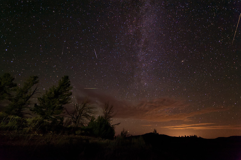 Perseids Before the Clouds