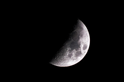 First Quarter Moon of 2016-01-16
