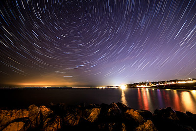 Brackett's Landing Star Trails
