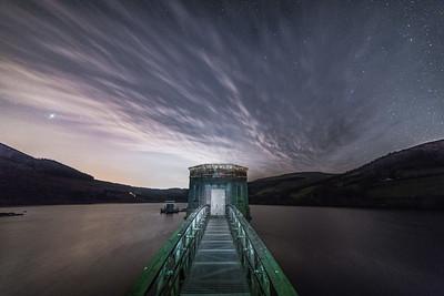 Tal y Bont reservoir