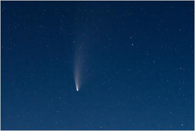 Comet C2020 Neowise, Blakeney, Norfolk, United Kingdom, 20 July 2020