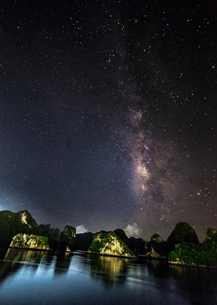 Halong Bay Milky Way