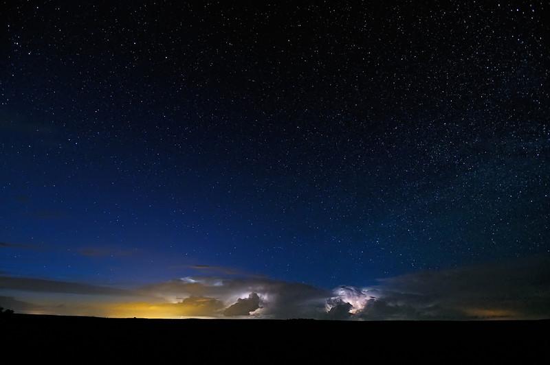 Glow Dirigibles Steaming through the Plains
