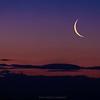 Rising Crescent Moon