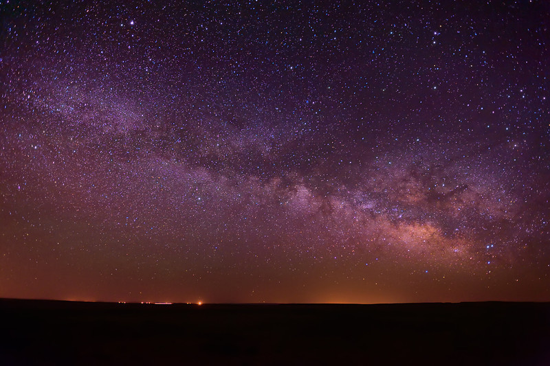 Milky Way Over Navajo Nation