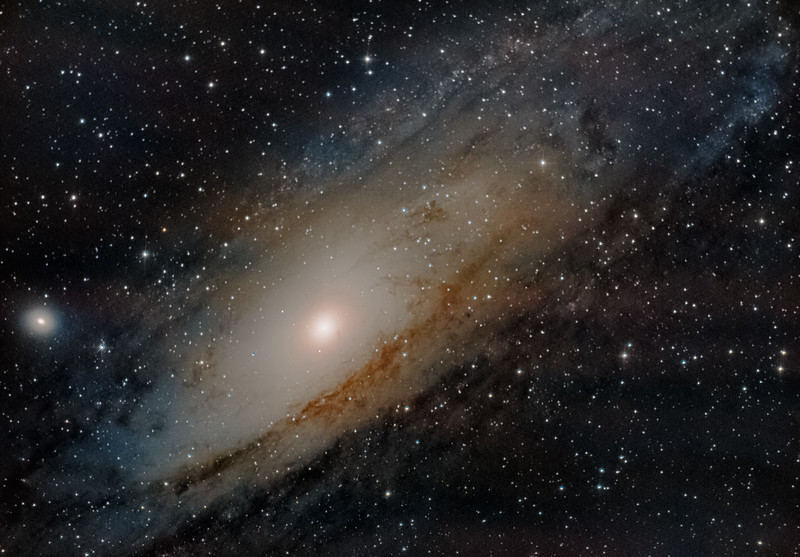 M31 rework- First light with Newtonian