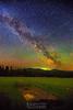 Milky Way over the Farm. Harrison, Idaho
