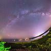 Milky Way over Essex Bay