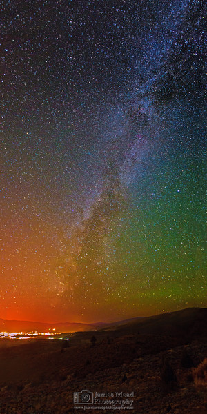 Milky Way Transitions, Susanville, California