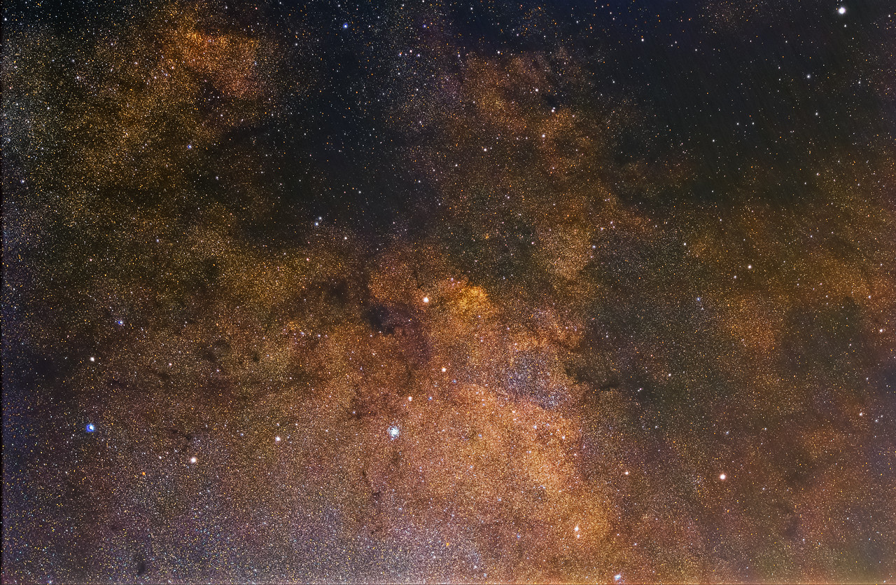 Initial edit somewhere in the milky way