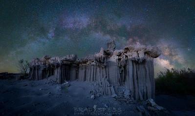 Sand Castle Milky Way