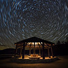 Kanc Gazebo Saucer Star Trails
