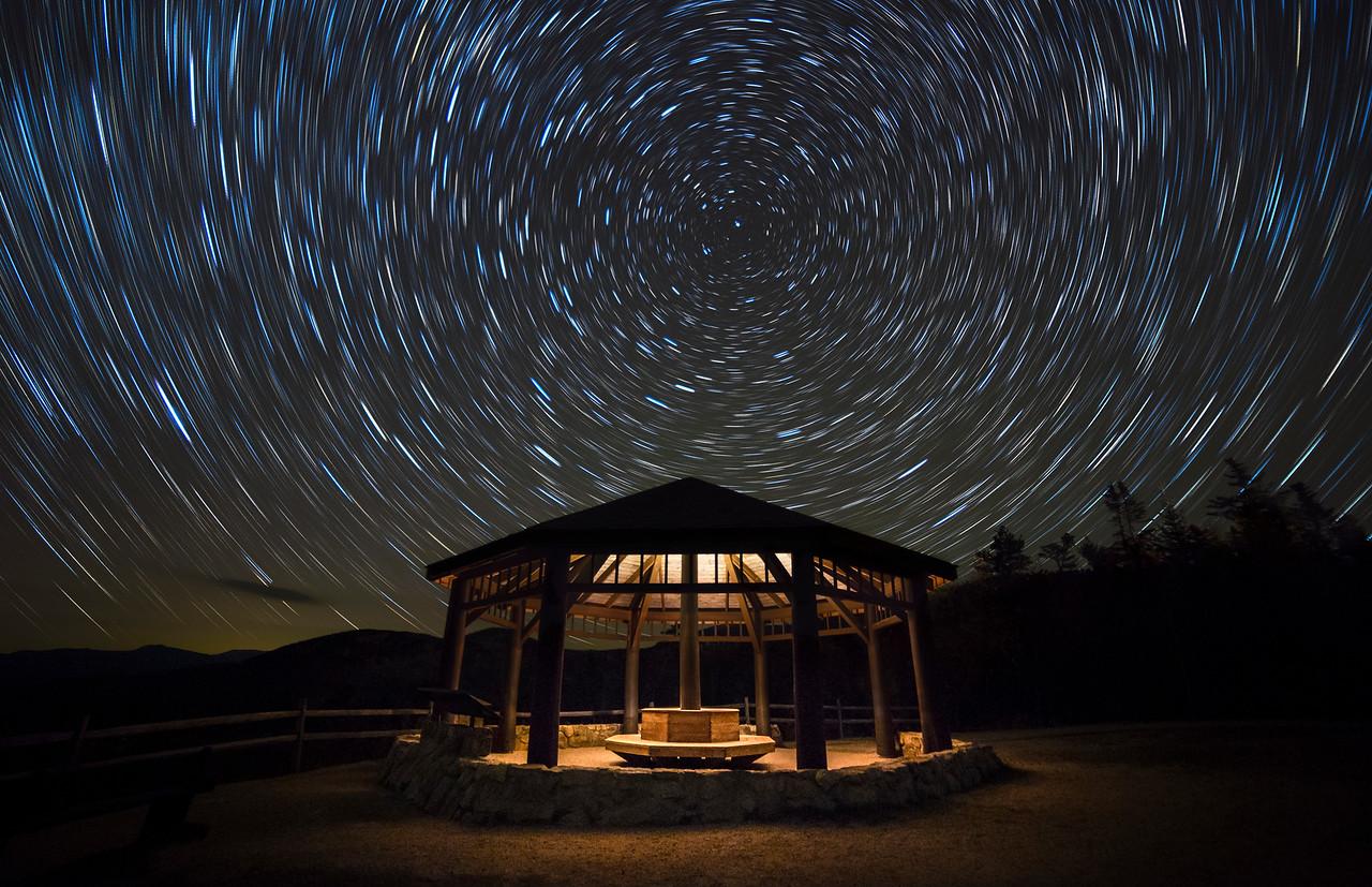 Kanc Gazebo Saucer Star Trails