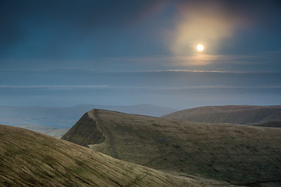Full Moon over Cribyn