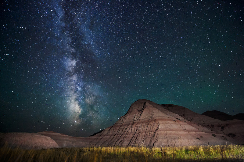 Milky Way in Badlands National Park