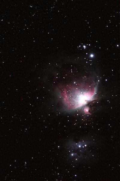 M42 - 180sec, ED80 - Not my scope unfortunately.