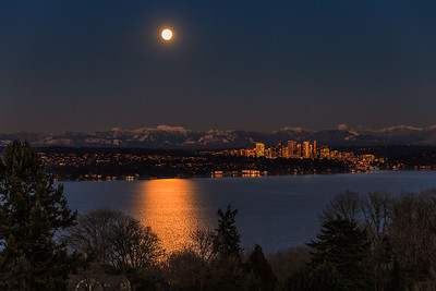 Bellevue Moonrise