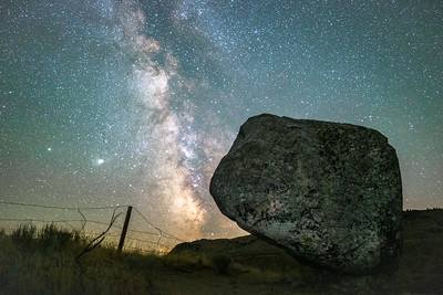Balancing Rock Milky Way