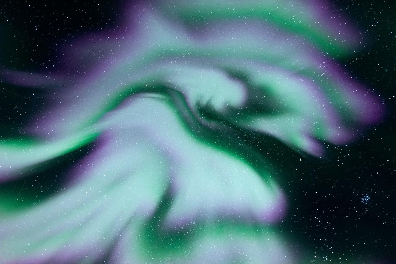 Aurora Corona in Iceland