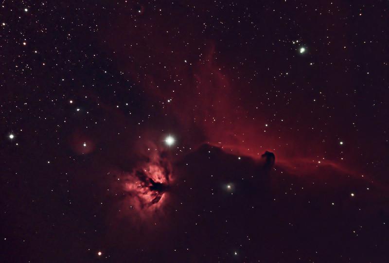 Flame Nebula and Horsehead