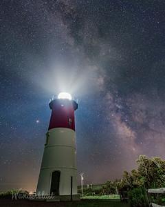 Stars over Nauset Lighthouse