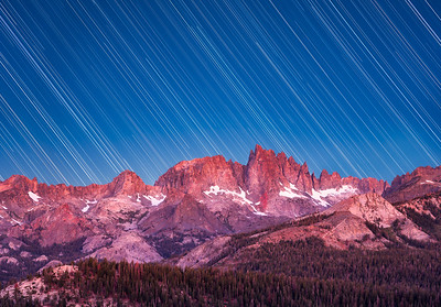 Minaret Vista Star Trails