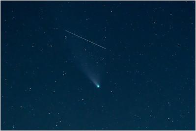 Comet C2020 Neowise, Blakeney, Norfolk, United Kingdom, 27 July 2020