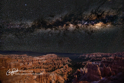 Milky Way over the Hoodoos