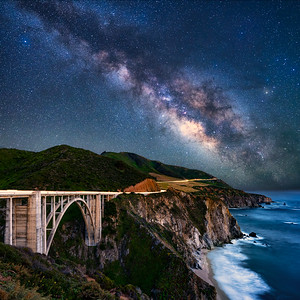 Bixby Bridge Milky Way