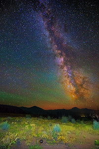 The Milky Way over Hat Creek Rim, Lassen Volcanic National Park