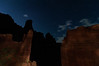 Night Shapes at Fisher Towers, Utah