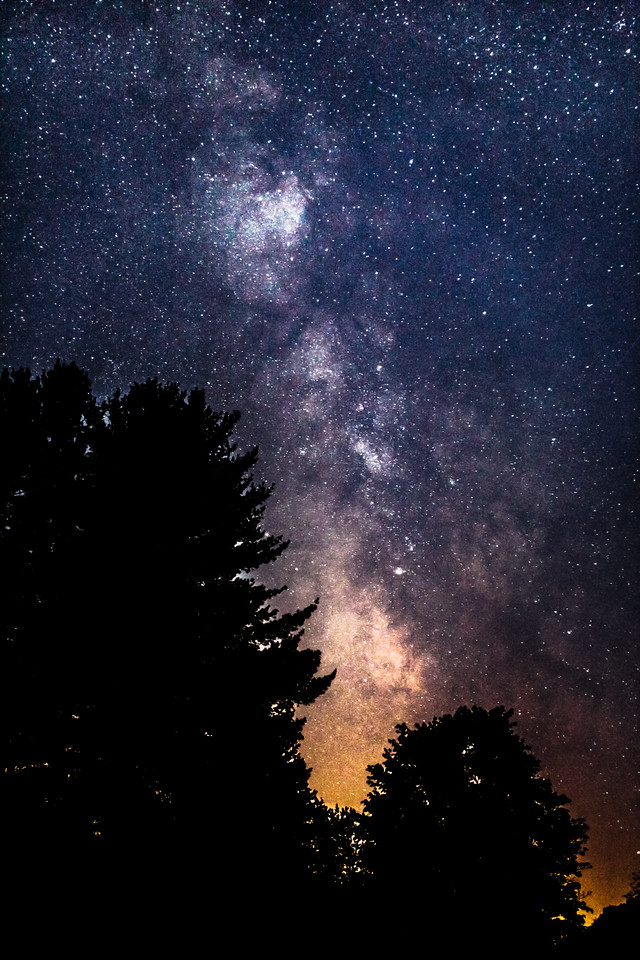 Milky Way In Gibson PA