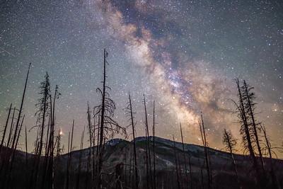 Tiffany Mountain Milky Way