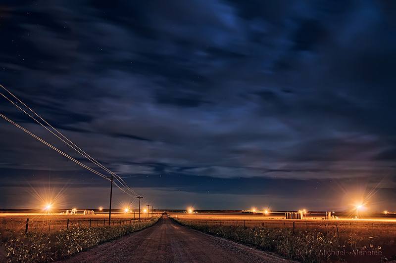Oil Development Flares up on the Pawnee
