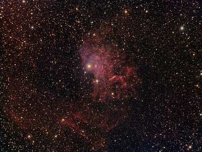 IC 405 - The Flaming Star Nebula