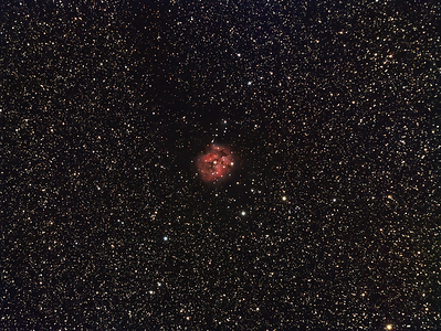 Cocoon Nebula - First image from Brotherhood Observatory