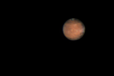 Mars at opposition (2014)