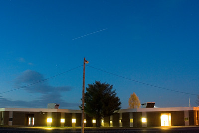 November 2010 - ISS over Warrensburg School