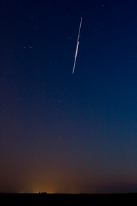 August 9, 2009 - Double flyby featuring the ISS and Shuttle Discovery
