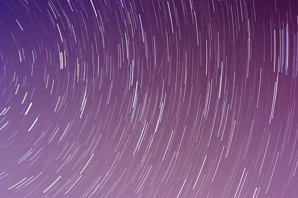 January 2011 - Quadrantid meteor shower (time stack)