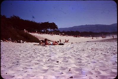 1963 09 Carmel Beach 2
