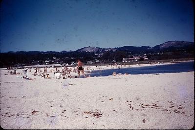 1963 09 Carmel Beach