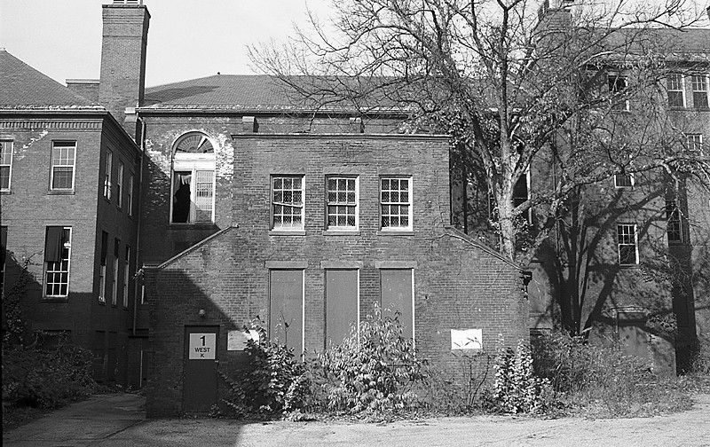 The closed asylum in Northampton, MA. All Photographs were taken by Katherine Elizabeth Pope in 2001, not long before her death at age 20.