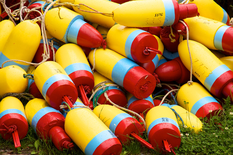 Lobster Trap Buoys