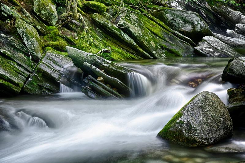 Hamilton Falls Cascade